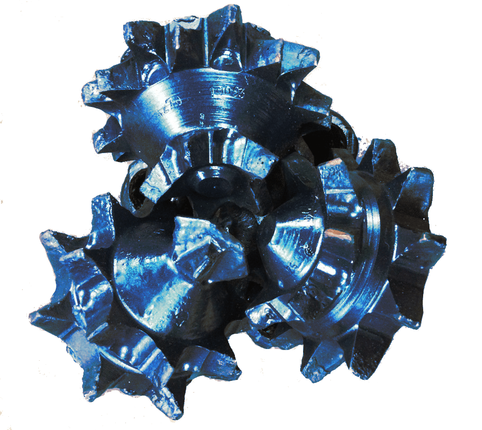"13""1/2 Rerun MILL TOOTH TRICONE BIT Thread: 6""5/8 API REG with open bearing"