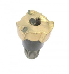 "3"" PDC DRILL BIT with 3 blades Thread : N-ROD Cutters : 5 Cutters Size: 13mm"