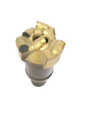 "3"" PDC DRILL BIT with 3 blades Thread : N-ROD Cutters : 6 Cutters Size: 13mm"