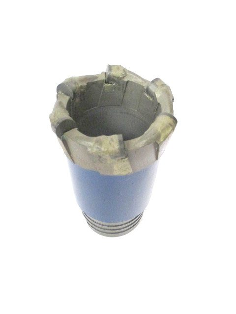 "3""5/16 PDC CORING DRILL BIT 6 blades 6 Cutters of 13mm"