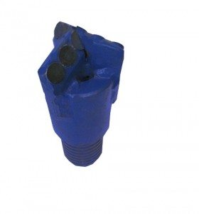 "2""1/2 PDC DRILL BIT with 3 Blades"