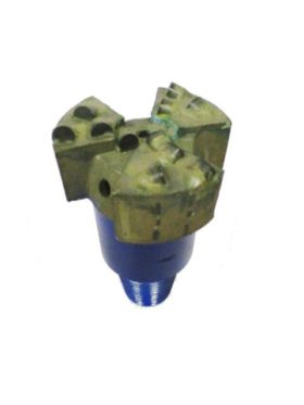 """4""""1/2 PDC Drill Bit with 3 blades Thread : 2""""3/8 API REG PIN Cutters Size : 13mm Number of Cutters : 11"""