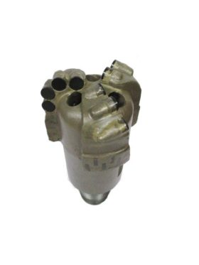 """4""""1/4 PDC Drill Bit with 3 blades Thread : 2""""3/8 API REG Cutters Size : 13mm Number of cutters: 10"""